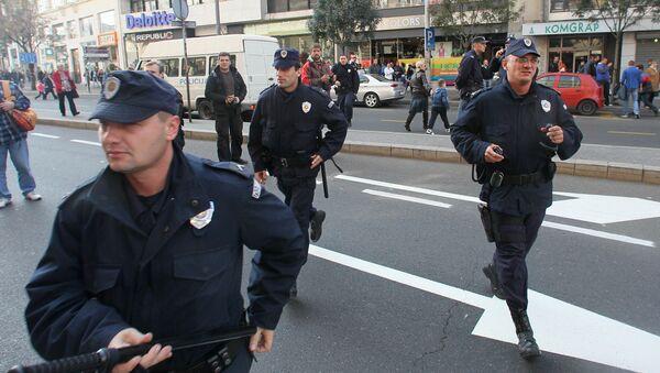 Serbscy policjanci - Sputnik Polska