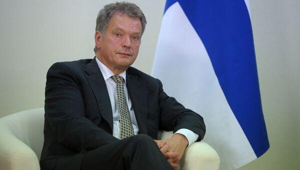 Prezydent Finlandii Sauli Niinistö - Sputnik Polska