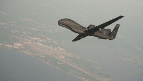 Amerykański bezzałogowy statek powietrzny RQ-4 Global Hawk - Sputnik Polska