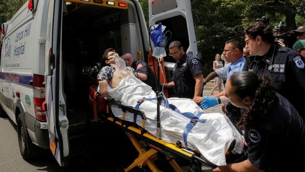 Mężczyzna stracił nogę w Central Parku w Nowym Jorku - Sputnik Polska