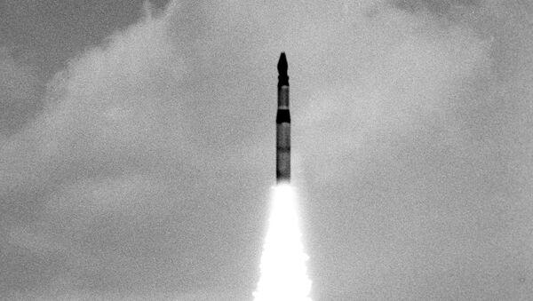 Start radzieckiej rakiety SS-20 - Sputnik Polska