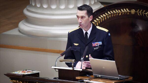 Naczelny dowódca Szwecji Mikael Buden - Sputnik Polska