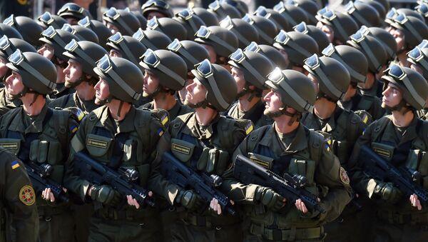 Ukraińscy żołnierze - Sputnik Polska