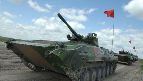 BMP-86A Chińskiej Armii Ludowo-Wyzwoleńczej - Sputnik Polska