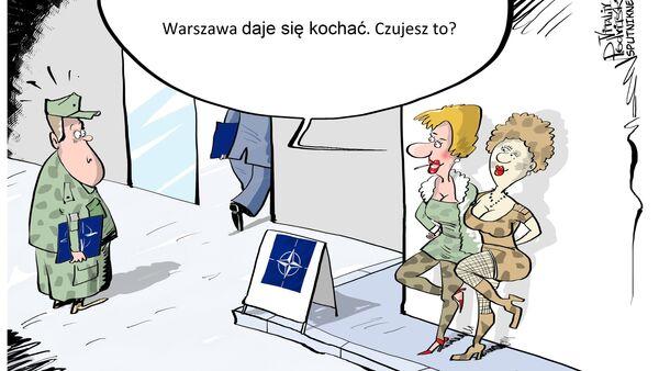 Warszawa daje się kochać. Czujesz to? - Sputnik Polska