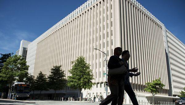 Siedziba główna Banku Światowego w Waszyngtonie - Sputnik Polska