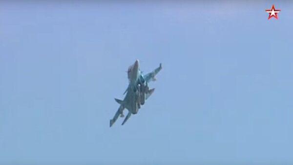 Su-34 w akcji - Sputnik Polska
