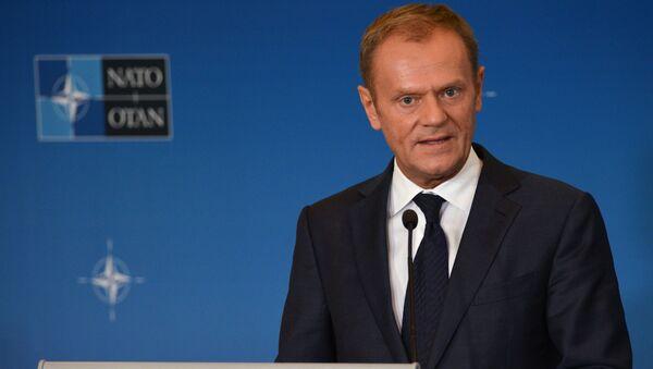 Przewodniczący Rady Europejskiej, były premier Polski Donald Tusk - Sputnik Polska