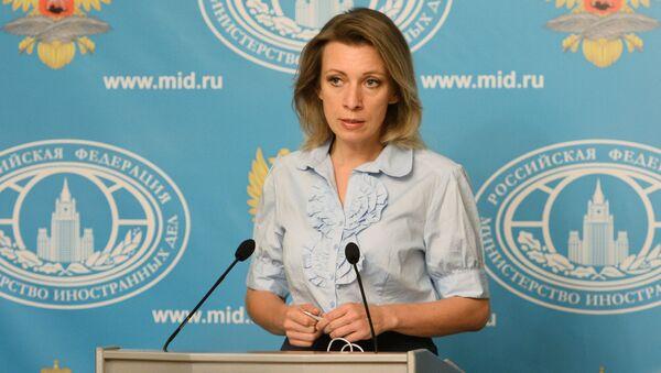Rzeczniczka rosyjskiego resortu polityki zagranicznej Maria Zacharowa - Sputnik Polska