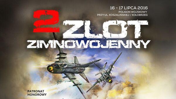Plakat II Zlotu Zimnowojennego w Kołobrzegu - Sputnik Polska
