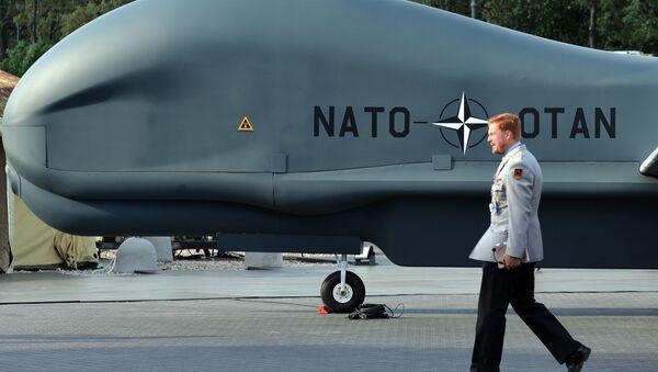 Dron NATO Global Hawk Block 40 w Warszawie - Sputnik Polska