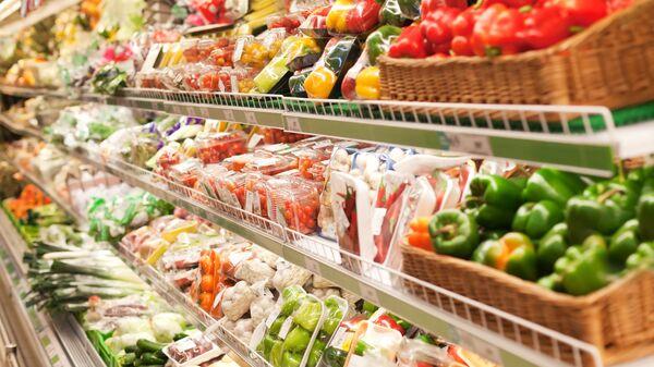 Warzywa w sklepie - Sputnik Polska