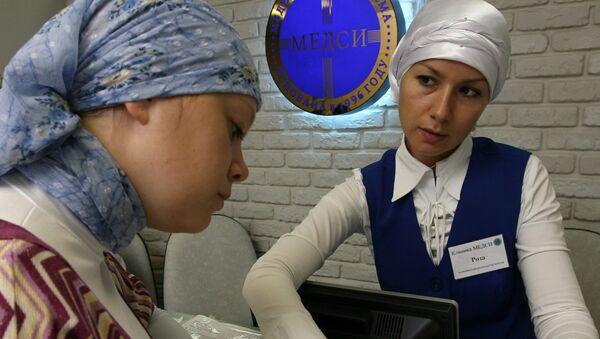Muzułmański oddział w klinice Medsi. Kazań. - Sputnik Polska