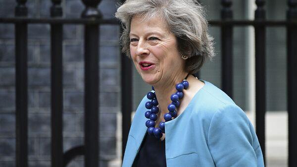 Premier Wielkiej Brytanii Theresa May. - Sputnik Polska