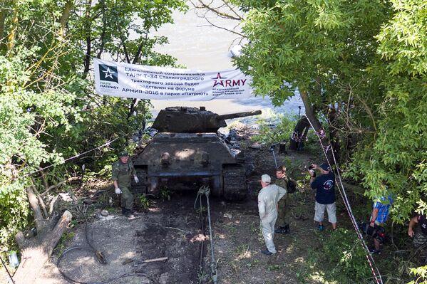 Odnaleziony czołg jest jedynym na świecie zachowanym modelem maszyny tego typu z 600-1000 wyprodukowanych. Czołgi te były wysyłane do jednostek bojowych bezpośrednio z linii produkcyjnej Stalingradzkiej Fabryki Traktorów. Został on wyprodukowany prawdopodobnie wiosną-latem 1942 roku. - Sputnik Polska