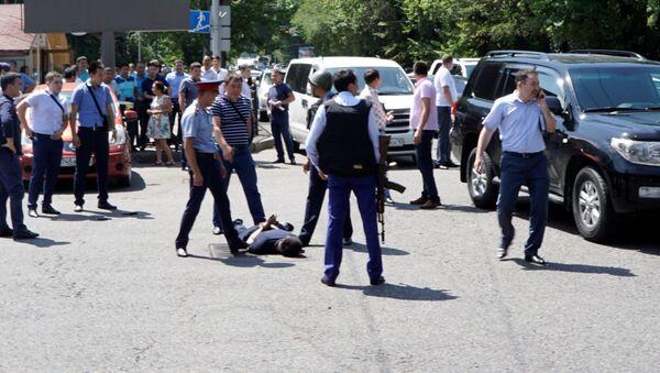 Zamach w Kazachstanie. - Sputnik Polska