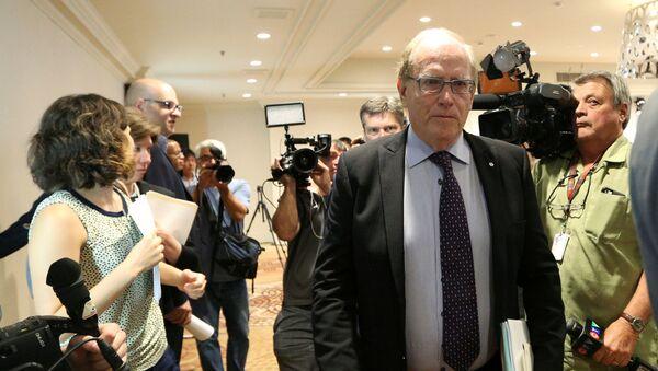 Richard McLaren, szef niezależnej komisji WADA, badającej nieprawidłowości przy badaniach próbek rosyjskich olimpijczyków - Sputnik Polska