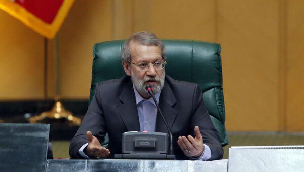 Rzecznik irańskiego parlamentu Ali Larijani - Sputnik Polska