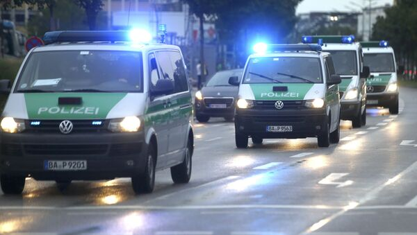 Strzelanina w Monachium. - Sputnik Polska