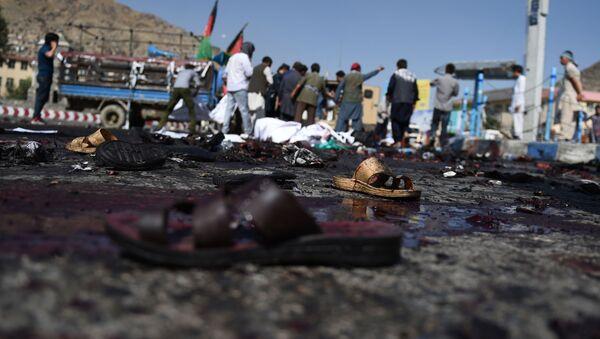 Zamach w Kabulu 23 lipca 2016 r. - Sputnik Polska