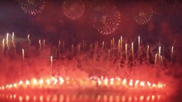 Drugi Międzynarodowy festiwal fajerwerków w Moskwie. - Sputnik Polska