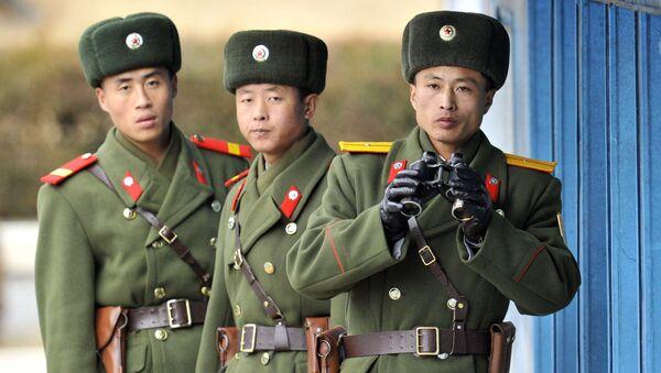 Północnokoreańscy żołnierze - Sputnik Polska