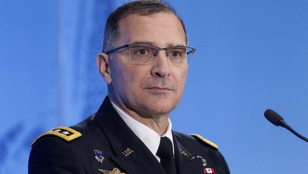 Głównodowodzący siłami NATO w Europie gen. Curtis Scaparrotti - Sputnik Polska