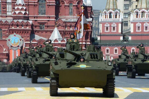 BMD-4M Sadownica na Placu Czerwonym, 9 maja 2015 - Sputnik Polska