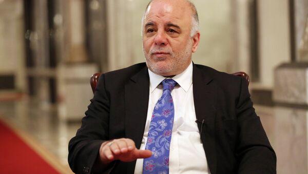 Premier Iraku Haider al-Abadi - Sputnik Polska