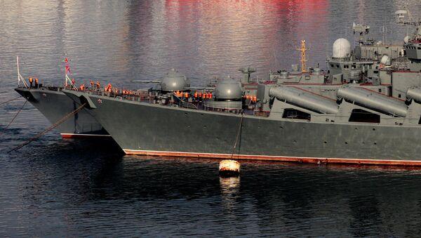 Okręty Floty Pacyficznej - Sputnik Polska