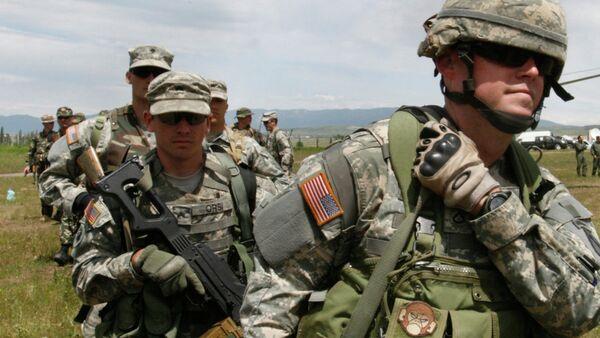W Gruzji rozpoczynają się ćwiczenia wojskowe z udziałem USA - Sputnik Polska
