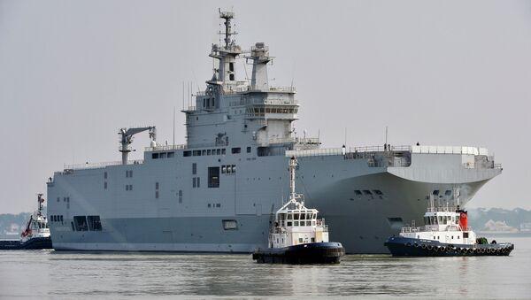 Okręt typu Mistral - Sputnik Polska