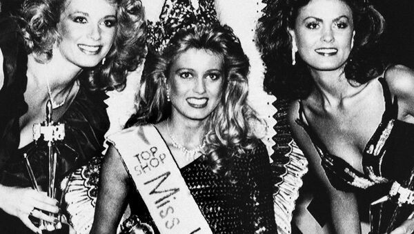 Miss World - 1985 Hofi Karlsdottir z Islandii - Sputnik Polska