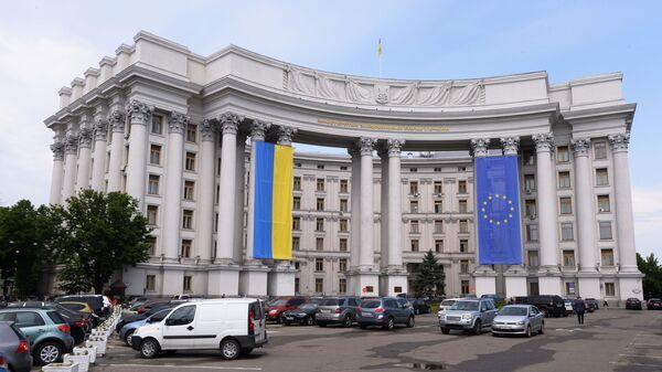 Siedziba MSZ Ukrainy - Sputnik Polska