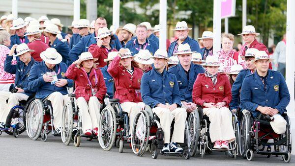 Rosyjska reprezentacja paraolimpijska w Londynie - Sputnik Polska