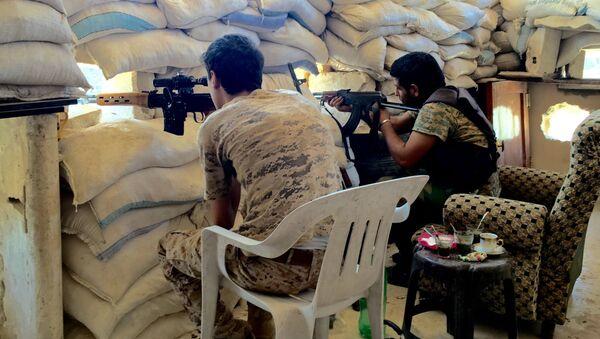 Konflikt zbrojny w Syrii. Aleppo - Sputnik Polska