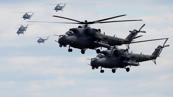 Mi-35 - Sputnik Polska