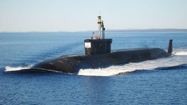Okręt podwodny o napędzie atomowym Jurij Dołgoruki - Sputnik Polska