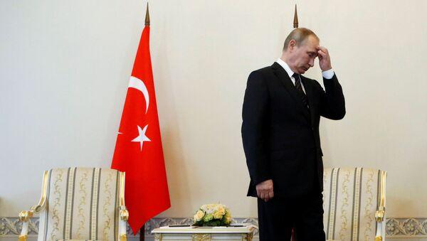 Wizyta prezydenta Turcji Recepa Tayyipa Erdogana w Petersburgu - Sputnik Polska