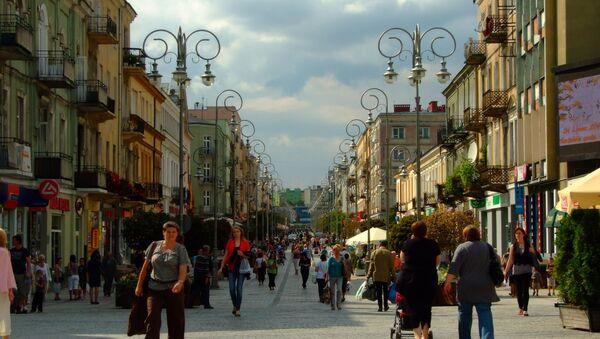 Ulica Sienkiewicza w Kielcach - Sputnik Polska