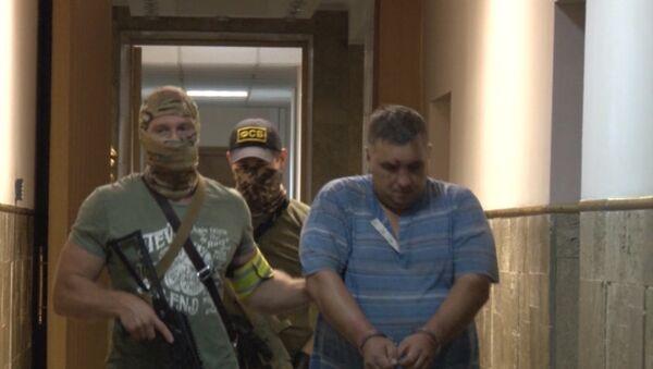 Aresztowanie dywersantów, planujących ataki terrorystyczne na Krymie - Sputnik Polska