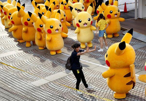 Występ pokemonów w Yokohamie, Japonia - Sputnik Polska