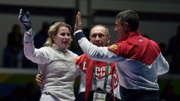 Inna Derigłazowa, Ildar Mawliutow, Ilder Mamiedow podczas Olimpiady 2016 - Sputnik Polska