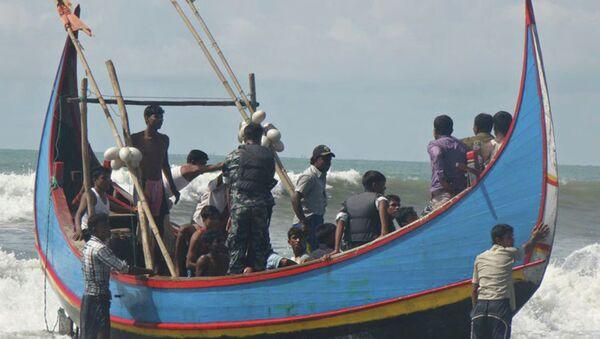 Uchodźcy Rohingja - Sputnik Polska