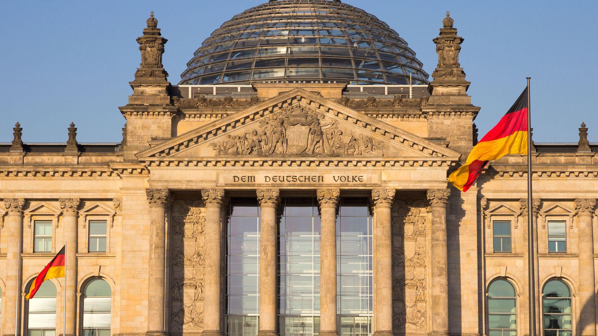 Bundestag w Berlinie - Sputnik Polska, 1920, 19.03.2021