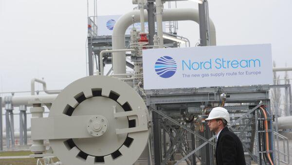 Nord Stream w Niemczech - Sputnik Polska