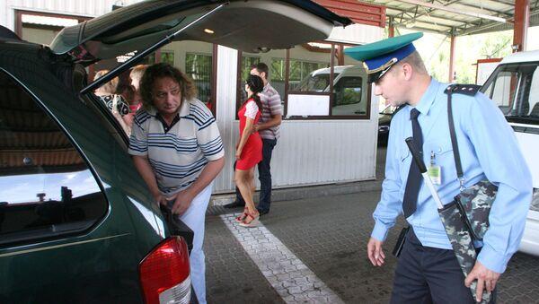 Przejście graniczne Braniewo–Mamonowo - Sputnik Polska