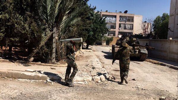 Sytuacja na południowym zachodzie Aleppo - Sputnik Polska