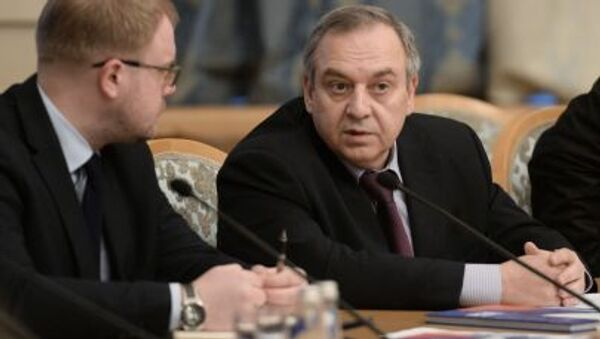 Georgij Muradow - wicepremier Krymu - Sputnik Polska