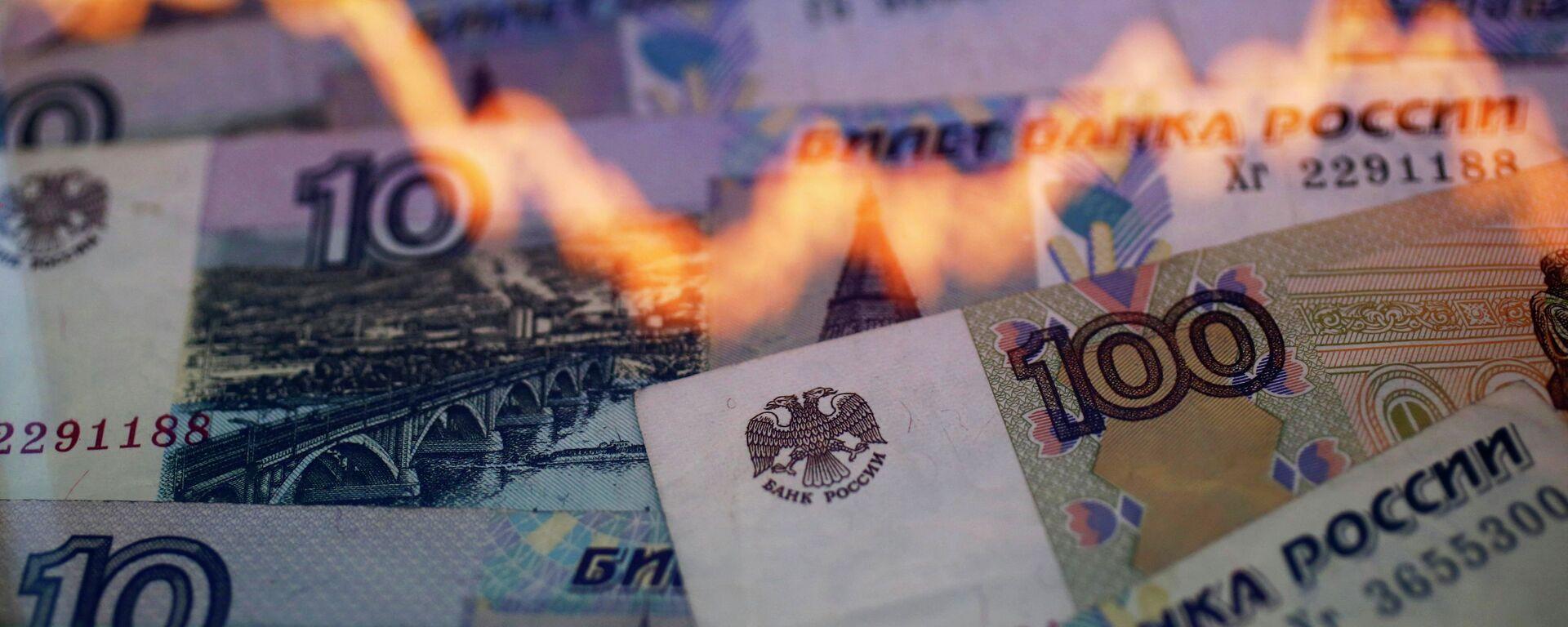 Związek między wartością rubla i ropy - Sputnik Polska, 1920, 08.06.2021